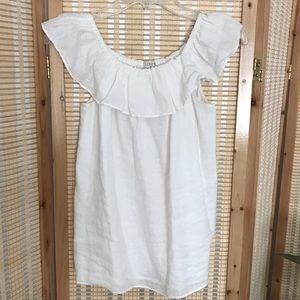 J.Crew Sleeveless Off the Shoulder Top